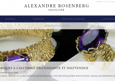 ALEXANDRE ROSENBERG: brand and creative content (French)